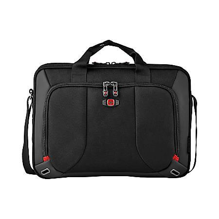 "SwissGear Platform Slimcase For Laptop Computers Up to 16"", Black"
