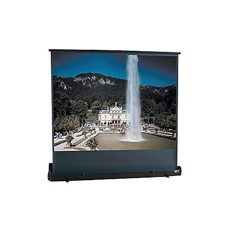 "Draper Road Warrior Portable Projection Screen - 36"" x 64"" - Fiberglass Matt White - 73"" Diagonal"