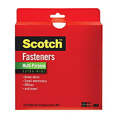 Scotch Recloseable Fastener White 2 x
