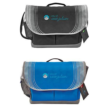 """Vector Messenger Bags, 10 1/2""""H x 3 1/4""""D x 16""""D"""