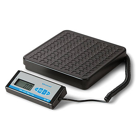 "Brecknell® PS150 Bench Scale With Display, 10""H x 12""W x 11 3/4""D, 150 Lb, Black"