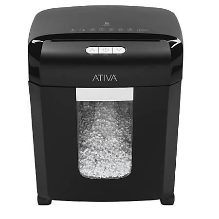 Ativa 10 Sheet Micro Cut Shredder