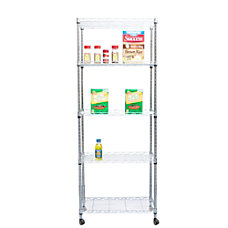 Mind Reader Steel Storage Rack Shelving