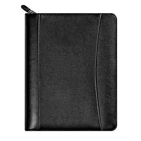 "FranklinCovey® Sedona Leather Binder And Starter Pack, 5 1/2"" x 8 1/2"", Black (34687)"