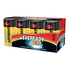 Eveready Alkaline D Batteries Pack Of