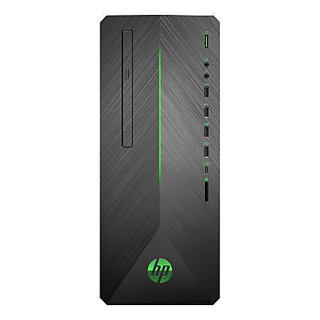 HP Pavilion 790-0020 Desktop PC, 8th Gen Intel® Core™ i5, 8GB Memory, 256GB Solid State Drive, Windows® 10 Home, GeForce GTX 1060