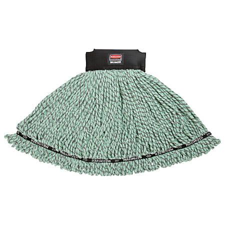 Rubbermaid® Maximizer Microfiber Blend Mop Head, Large, Green