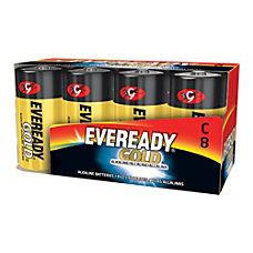 Eveready Alkaline C Batteries Pack Of