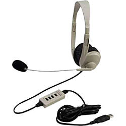 Califone 3064AV USB Lightweight Multimedia Headset