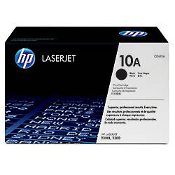 HP 10A Black Original Toner Cartridge