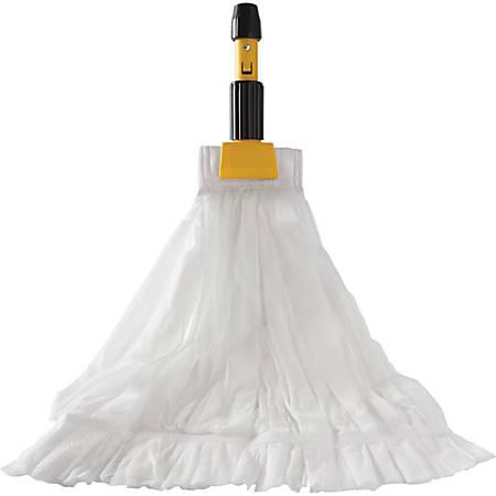 Rubbermaid Commercial Disposable Mop - Disposable - 24 / Carton - White