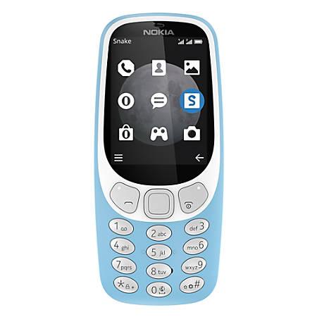 Nokia 3310 TA-1036 Cell Phone, Blue