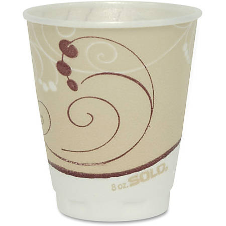 Solo® Trophy® Dual Temperature Insulated Hot/Cold Cups, 8 Oz., Pack Of 300