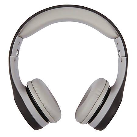 Ativa™ On-Ear Headphones, Black/Gray, WD-LG01-BLACK