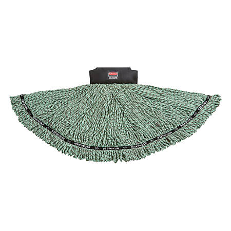 Rubbermaid® Maximizer Blend Mop Head, Large, Green