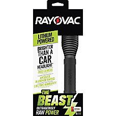 Rayovac The Beast CR123A Lithium Flashlight