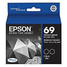 Epson 69 T069120 D2 DuraBrite Black