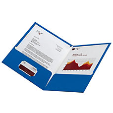 Office Depot Laminated Twin Pocket Portfolios