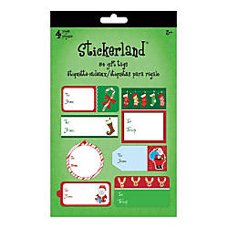 Sandylion Holiday Gift Tag Pads Traditional