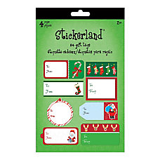 Sandylion Holiday Gift Tag Pads ST5212