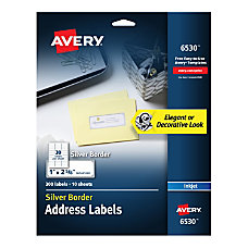 Avery Easy Peel Address Labels With