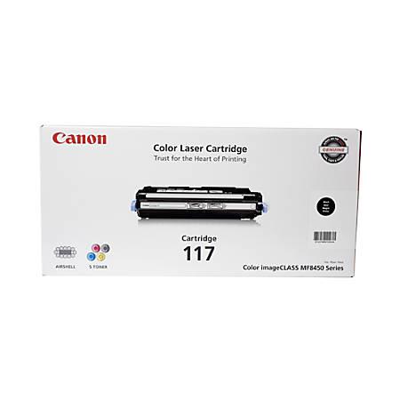 Canon 117, Black Toner Cartridge (2578B001AA)