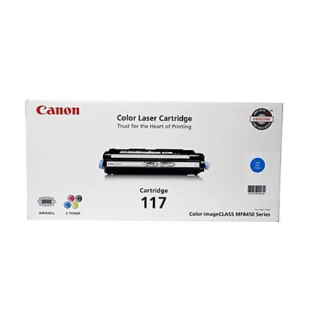 Canon 117, Cyan Toner Cartridge (2577B001AA)