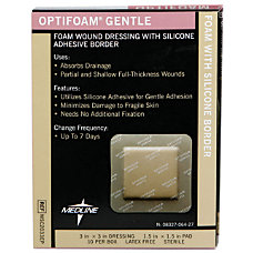 Optifoam Gentle Border Adhesive Dressings 3