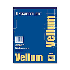Staedtler Vellum Paper Pad Letter 8