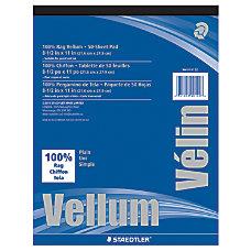 Staedtler Plain Vellum Paper 8 12