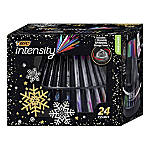BIC® Intensity Fineliner Marker Pens, Fine/Medium Points, 0.4 mm/0.7 mm, Assorted Barrels, Assorted Ink Colors, Pack Of 24 Pens