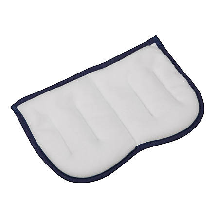 "HealthSmart® TheraBeads Sinus Pain Relief Heating Pad, 6"" x 9"", Blue/White"
