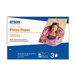 Epson Photo Paper Glossy 4 x