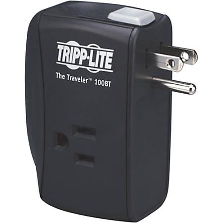 Tripp Lite Notebook Surge Protector Wallmount Direct Plug In 2 Outlet RJ45 - Receptacles: 2 x NEMA 5-15R - 1050J