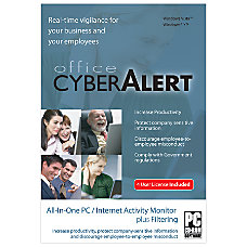 Office Cyber Alert For 4 Users
