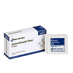 PhysiciansCare First Aid Alcohol Pads Box
