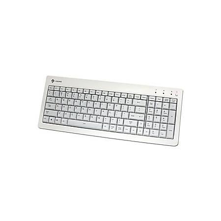 BUSlink i-Rocks KR-6820E-WH Compact USB Keyboard