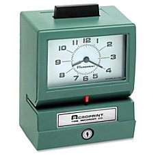 Acroprint 125 Manual Print Time Recorder