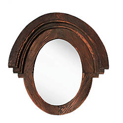 PTM Images Framed Mirror Western 22