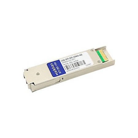 AddOn Arista Networks CAB-SFP-SFP-10MA Compatible TAA Compliant 10GBase-CU SFP+ to SFP+ Direct Attach Cable (Active Twinax, 10m) - 100% compatible and guaranteed to work