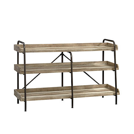 """Sauder® Carson Forge Anywhere Console for 60"""" TVs, Lintel Oak"""