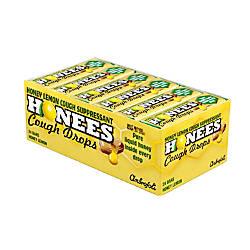 Honees Cough Drops Honey Lemon Box