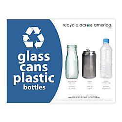 Recycle Across America Glass GCP 8511