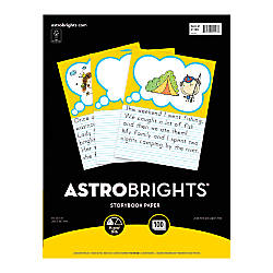 Wausau Astrobrights Story Paper 8 x