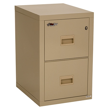 new style 617a7 64573 FireKing Turtle Insulated Fireproof Filing Cabinet, Vertical, 2 Drawers,  White Glove Delivery Item # 435045