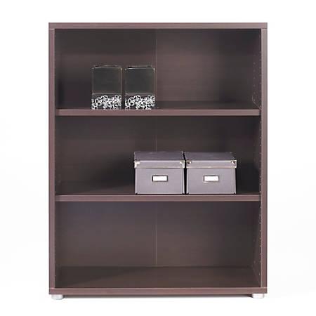 Tvilum-Scanbirk Prima 3-Shelf Bookcase, Coffee