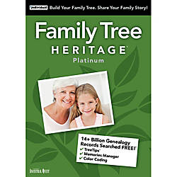 Family Tree Heritage Platinum 15 Windows