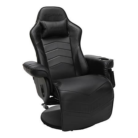 Respawn 900 Racing-Style Gaming Recliner, Black