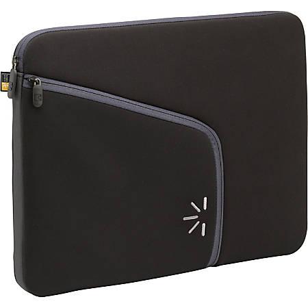 "Case Logic 13.3"" Laptop Sleeve - Notebook sleeve - 13.3"" - black - for HP Mini 10XX; Pavilion tx1420, tx2000, tx2622; IBM ThinkPad 240; 570; 600; Lenovo U330"
