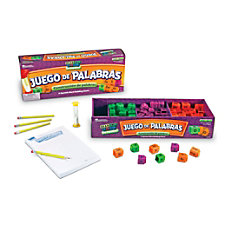 Learning Resources Juego De Palabras Spanish